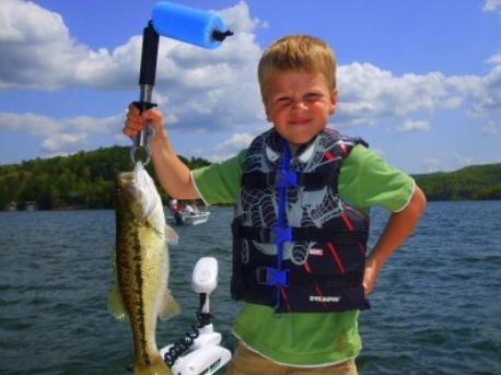 fishing on Lake Burton